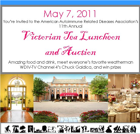 Victorian Tea Invitation Mother's Day